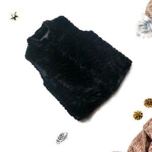 Faux Fur Vest By Copper Key